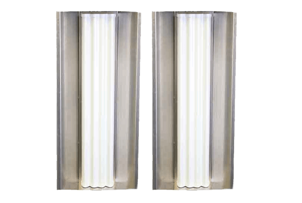90deg Sector RF Shield with Rocket Enclosure (2 Pack)