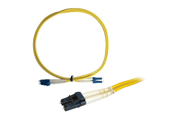 Single Mode Fiber Patch Cable LC to LC Connectors (1m)