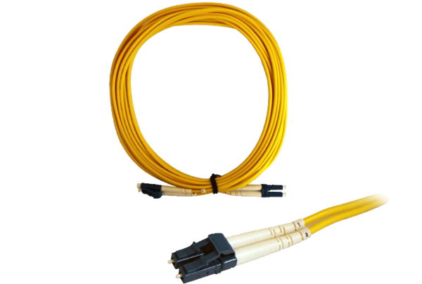 Single Mode Fiber Patch Cable LC to LC Connectors (5m)
