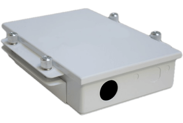 UBTik 411 MikroTik Access Point for Ubiquiti Antennas (Enclosure Only)