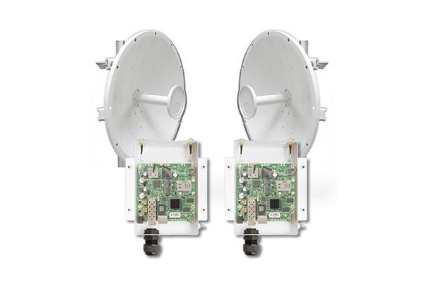 5GHz 802.11ac PtP Backhaul Link Starter Kit featuring UBTik AC MIMO