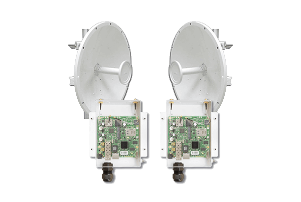 5GHz 802.11ac PtP Backhaul Link Starter Kit featuring UBTik AC MIMO